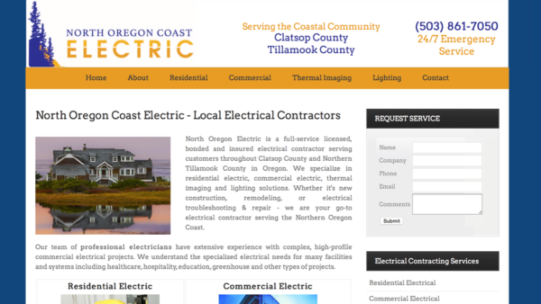Electrical Contractor Websites Archives - ContractorWeb