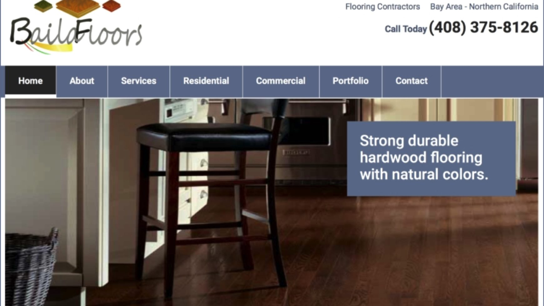 Baila Floors Website – Palo Alto, CA