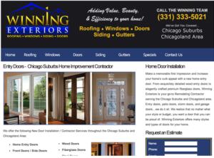 Home Improvement Contractor Websites Website Design Seo