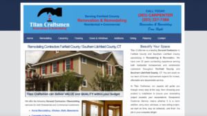 Home Remodeler Website Design