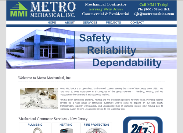AC Plumbing Website – New Jersey