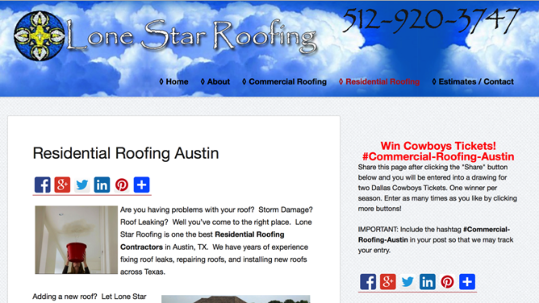 Roofing Contractor Websites Archives Contractorweb
