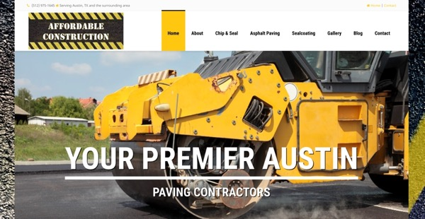 Website Design for Contractors