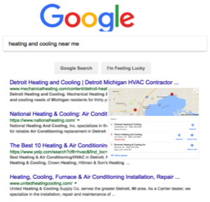 Organic SEO for Heating and Cooling