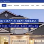Alltech Construction Website – Cedar Park, TX