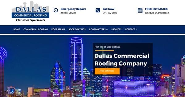 Dallas Commercial Roofing Company Website U2013 Dallas, TX