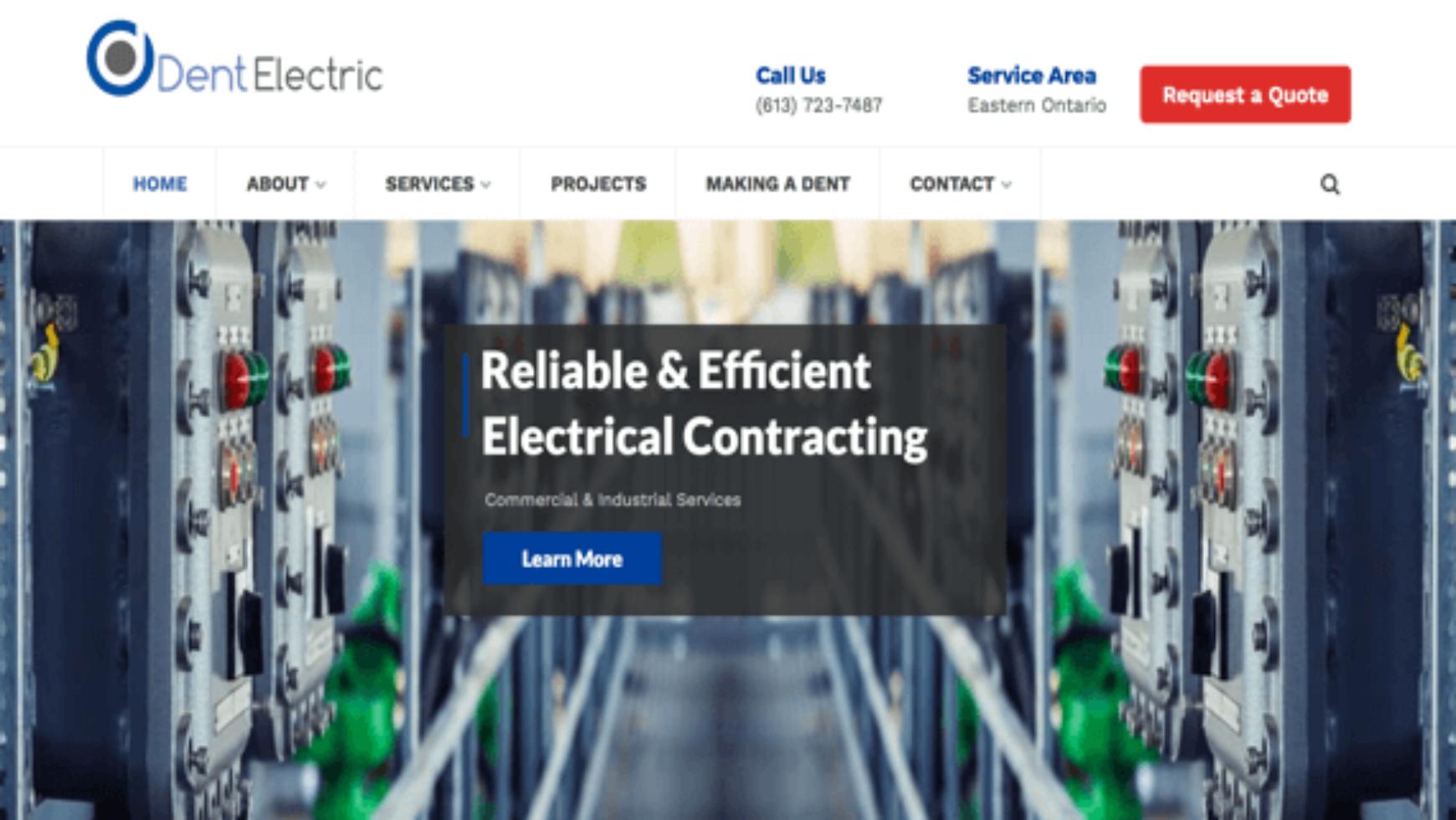 Electrical Contractor Websites Archives - ContractorWeb