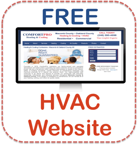 Free HVAC Website