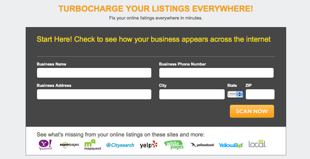 Scan my Contractor Business Listings