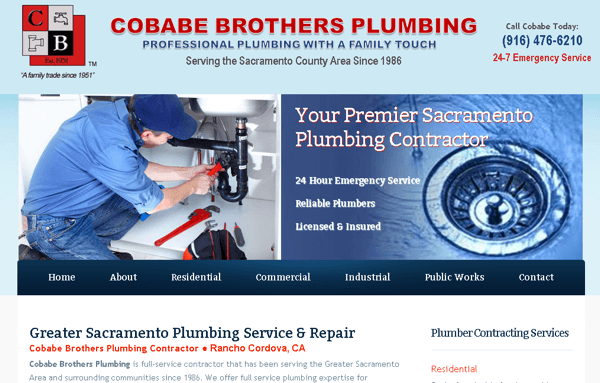 Plumber Website Design Company
