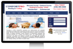 HVAC website design - marketing strategy