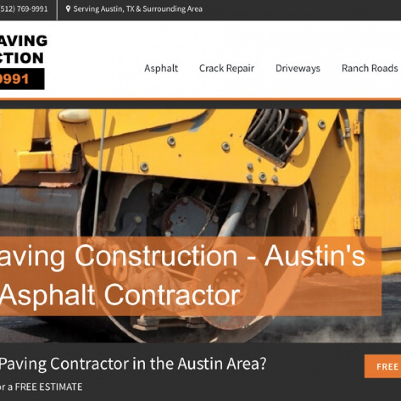 Allstar Paving Construction Website – Leander, TX