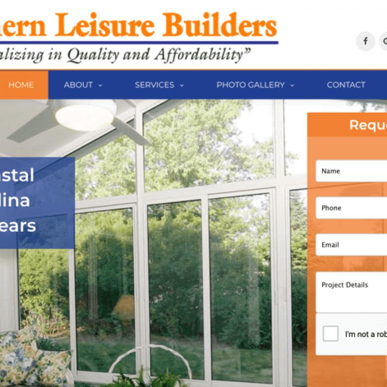 Southern Leisure Builders Website