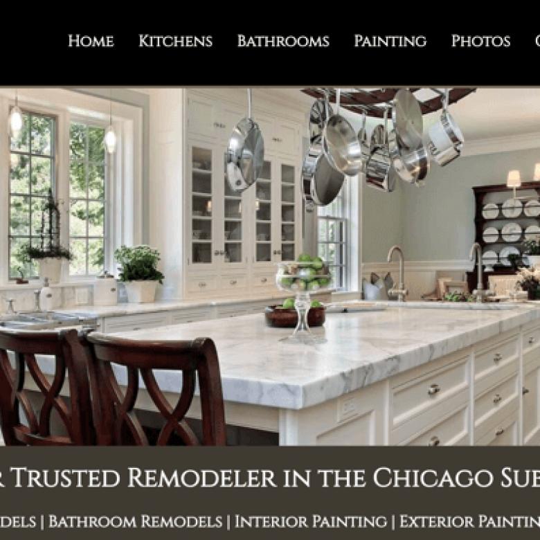 Arlington Heights Remodeling & Painting Website
